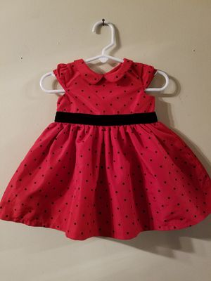 Baby christmas dress size 6 M like new for Sale in Santa Ana, CA