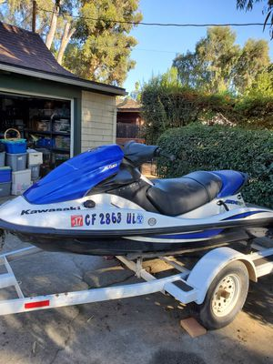 2006 Kawasaki STX 12f Jet Ski / Seadoo in excellent condition with trailer! Like new for Sale in San Clemente, CA