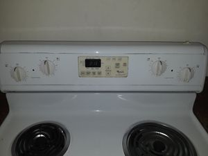 Whirlpool self cleaning oven stove electric for Sale in Chesapeake, VA