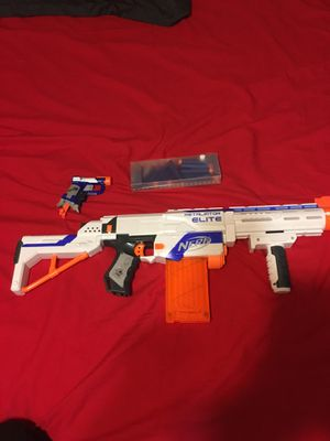"""2 nerf guns with 17 """"bullets/ammo"""" for Sale in New York, NY"""
