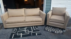 Modern Sofa Set - Made in USA - Sold at Crate and Barrel- Delivery Available for Sale in Seattle, WA