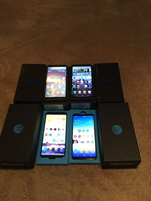 1 Verizon Samsung Galaxy Note 8\ 2 AT&T Samsung Galaxy Note 8 Phones for Sale in Kissimmee, FL