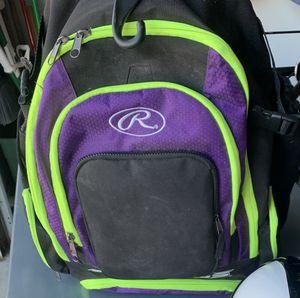 Rawling Backpack Equipment Bag Softball/Baseball Bag for Sale in Homer Glen, IL