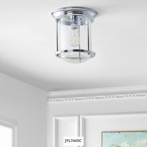 JONATHAN Y Savannah 10.25 in. Chrome Metal/Glass LED Flush Mount for Sale in Dallas, TX