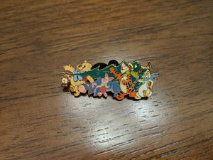 Disney LE 250 pin from Disney shopping 2006 featuring Pooh, Eeyore, piglet, Tigger and rabbit for Sale in Glendale, AZ