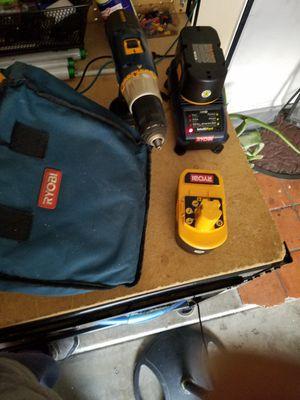 Ryobi drill 18v for Sale in Phoenix, AZ