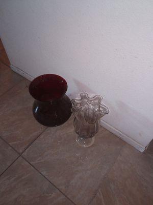 Flower Vase 2 for $3 for Sale in Fontana, CA