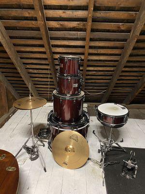 Jett Drum set with Cymbals for Sale in Bridgeport, CT
