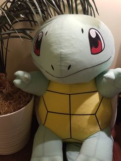 Giant Stuffed Squirtle Pokemon for Sale in Irvine,  CA