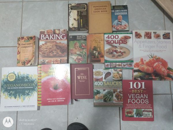 Cook Book Collection (31 text books and recipe guides)