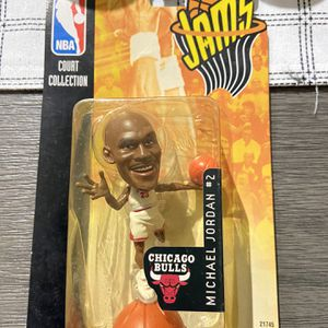 New 1998 Mattel NBA Jams Action Figure Michael Jordan White Factory Sealed for Sale in Hollywood, FL