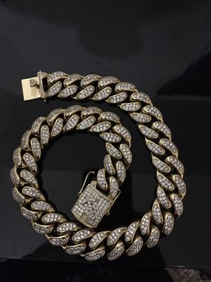 """14"""" Cuban Link Choker for Sale in Forest Heights, MD"""