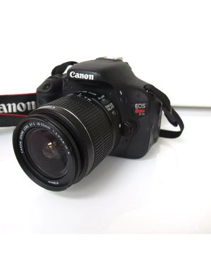 Canon Rebel eos T31 Digital camera + EFS 18-55mm 0.25/0.8 ft lens for Sale in Camden, NJ