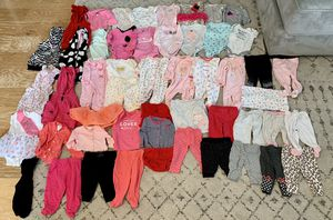 0-3M girl clothes lot for Sale in Poway, CA