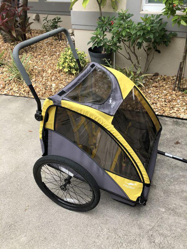 Co pilot kids bike trailer and jogging stroller