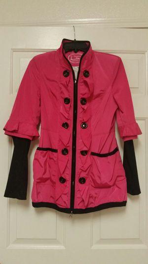 Woman's raincoat bright pink for Sale in Rancho Santa Margarita, CA