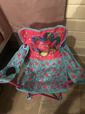 Trolls Fold -N-Go Chair for Sale in National City, CA
