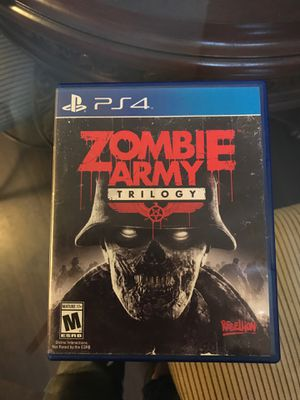ps4 Zombie Army for Sale in Upland, CA