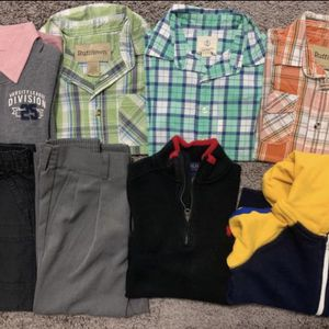 Boys shirts and pants 4yrs old 8pcs $50 for pick up only Thursday Friday Saturday Sunday Monday 3-6pm for Sale in Palo Alto, CA