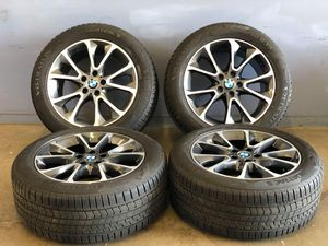 """19"""" oem BMW X3 x5 wheels and tires 255-50-19 new take off 5x120 for Sale in Fraser, MI"""