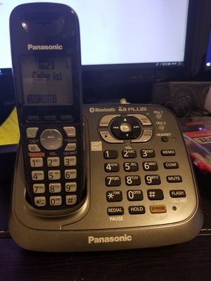 Panasonic Cordless Phone with bluetooth for Sale in Raleigh, NC