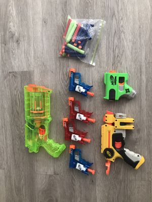 Working Nerf guns with darts for Sale in Fort Lauderdale, FL