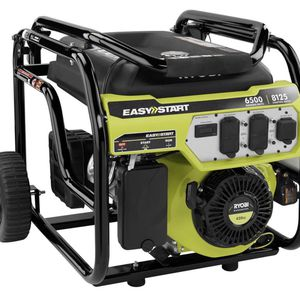 RYOBI 6,500-Watt Gasoline Powered Portable Generator with CO Shutdown Sensor for Sale in Hialeah, FL