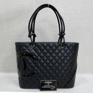 CHANEL CC QUILTED BLACK LEATHER SHOULDER BAG for Sale in Orlando, FL