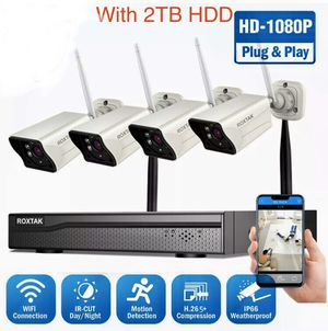 1080P Wireless Security Camera System /baby monitor , HD WiFi IP , night vision, Indoor/ Outdoor for Sale in Sun City, AZ