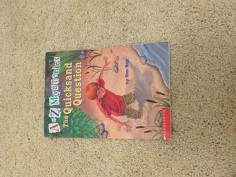 Book A To Z Mysteries The Quicksand Question By Ron Roy for Sale in Happy Valley,  OR