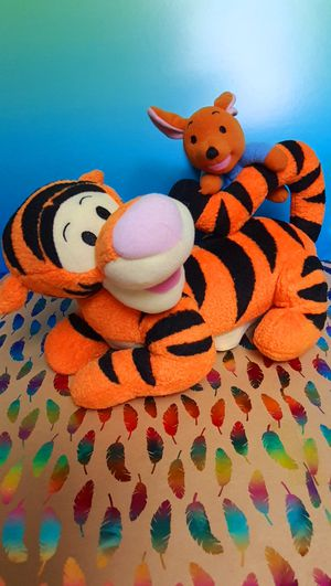 Disney Winnie The Pooh ~ Talking Tigger with Koo 10 Inch Plush Toy for Sale in Santa Ana, CA