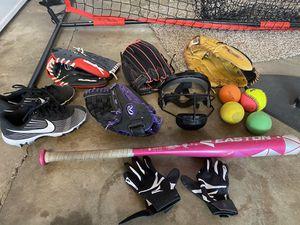 Softball equipment for Sale in La Habra, CA