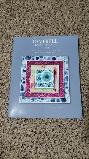 Campbell Biology In Focus Volume 1 for Sale in SIENNA PLANT, TX