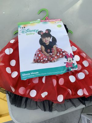 New Minnie Mouse costume $10 for Sale in North Las Vegas, NV