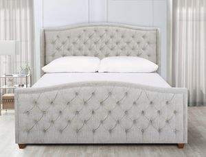 King Bed Frame and Mattress for Sale in Marietta, GA