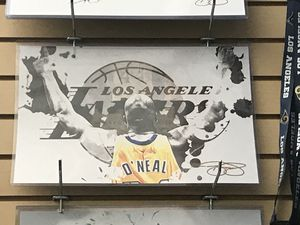 La lakers shaq O'Neal 11x17 wall art print for Sale in Colorado Springs, CO