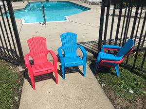 Children's stackable chairs for Sale in Chesapeake, VA