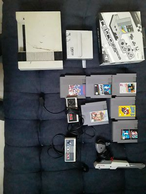 Nes Collection 6 games 2 consoles for Sale in Calumet City, IL