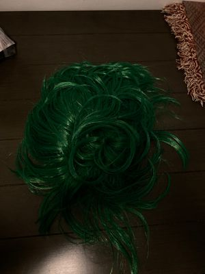 Green wig for Sale in Fullerton, CA