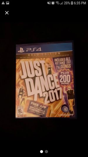 Ps4 just dance 2017 New!! for Sale in Watseka, IL