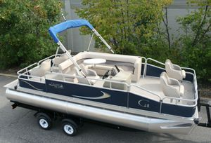 REDUCED-PRICE $1200$=2019 Pontoon 20 Grand Island G with Trailer!! for Sale in Glendale, AZ