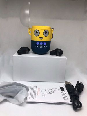 Minion Bluetooth 5.0 Wireless Earbuds and Speaker Waterproof for Sale in Spring, TX