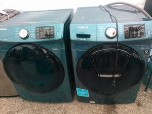 Samsung WASHER AND DRYER, both electric for Sale in Spring, TX