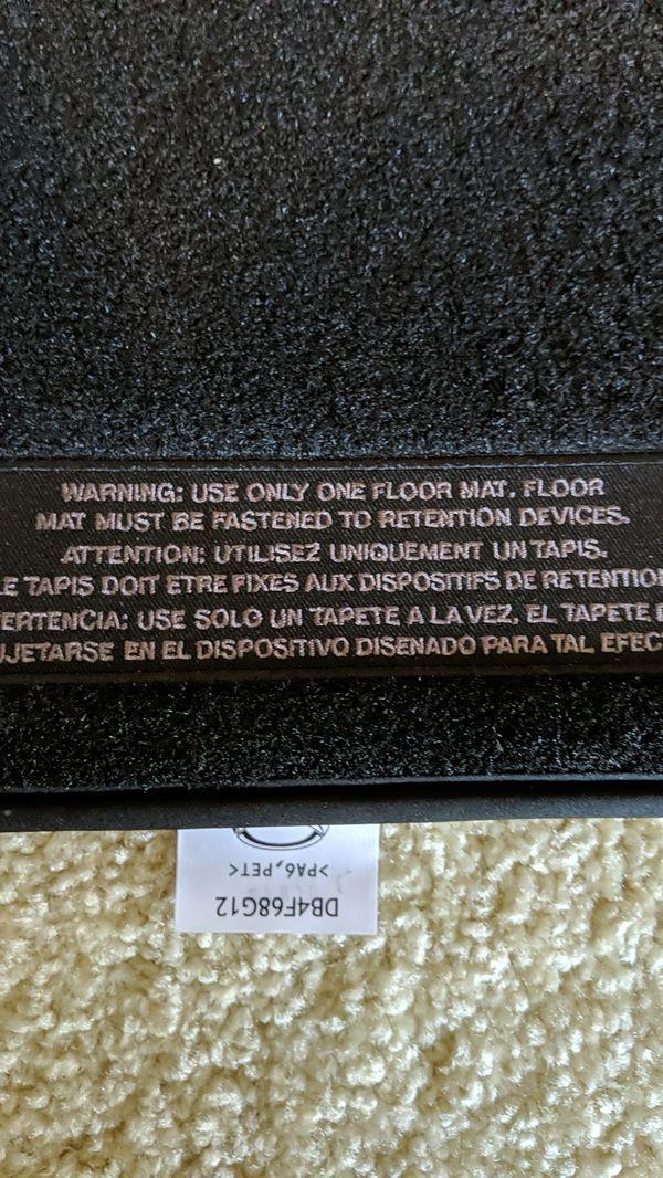 OEM Mazda CX-3 floor mats