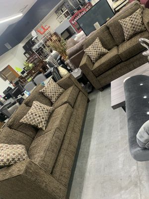 New sofa and love seat for $980 for Sale in Fort Worth, TX