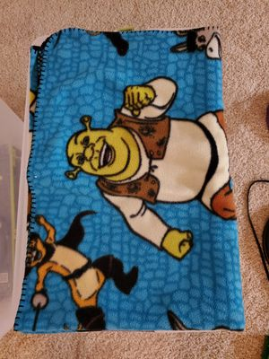 Shrek blanket for Sale in Sarasota, FL