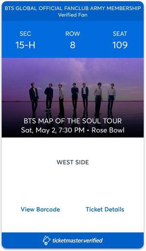 BTS concert tickets for Sale in Phoenix, AZ