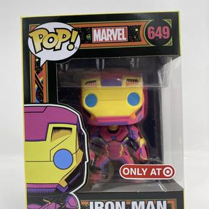 Funko Pop! Iron Man Black Light #649 Marvel Target Exclusive *IN HAND* for Sale in Peoria, IL