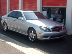 2002 Mercedes Benz S500 for Sale in Long Beach, CA