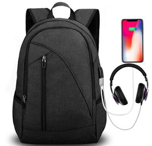 Brand New Seal In Bag 17-Inches Water Resistant Laptop Backpack with USB Charging Port Headphone Port Fits up to Laptop Computer Backpacks Travel Da for Sale in Hayward, CA
